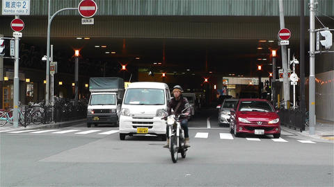 Namba District Osaka Japan 80 Stock Video Footage
