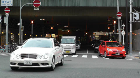 Namba District Osaka Japan 80 Footage