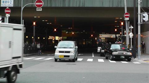 Namba District Osaka Japan 80 Stock Video Footage