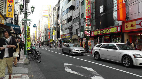 Namba District Osaka Japan 82 Stock Video Footage