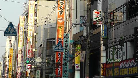 Namba District Osaka Japan 84 Stock Video Footage