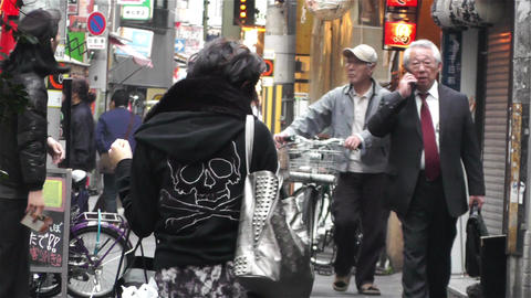 Namba District Osaka Japan 86 Stock Video Footage