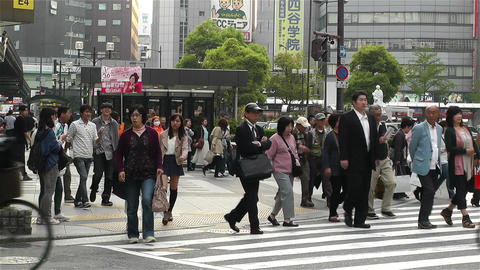 Namba District Osaka Japan 90 Stock Video Footage