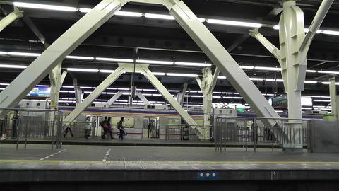 Nankai Namba Station Osaka Japan 2 Stock Video Footage