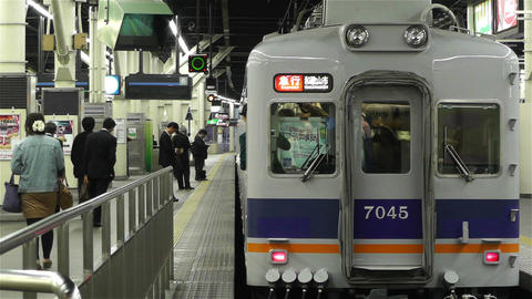 Nankai Namba Station Osaka Japan 6 Stock Video Footage