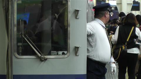 Nankai Namba Station Osaka Japan 11 Stock Video Footage