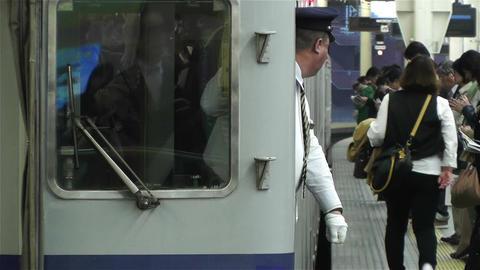 Nankai Namba Station Osaka Japan 11 Footage