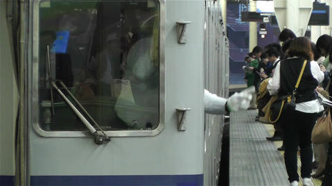 Nankai Namba Station Osaka Japan 11 Stock Video Footage