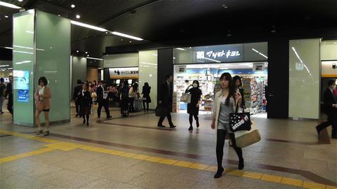 Nankai Namba Station Osaka Japan 13 Footage