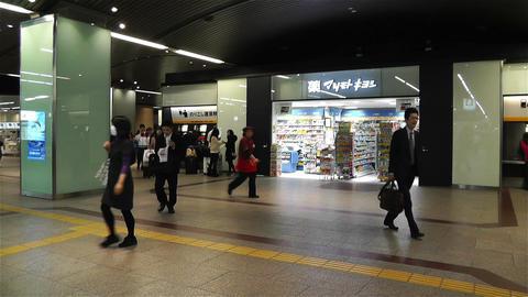 Nankai Namba Station Osaka Japan 13 Stock Video Footage