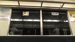 Nankai Train in Osaka Japan 1 Stock Video Footage