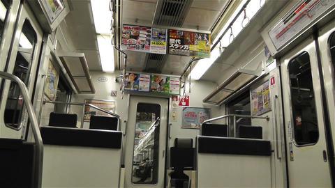 Nankai Train in Osaka Japan 7 Stock Video Footage
