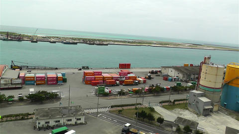Okinawa Islands Ishigakijima Japan 8 pan Stock Video Footage