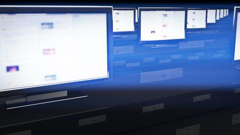 Social Media Spyroom 2 Stock Video Footage