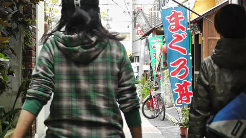 Street in Okinawa Islands 2 Stock Video Footage