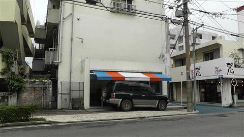 Street in Okinawa Islands 4 Stock Video Footage