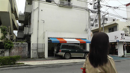 Street in Okinawa Islands 4 Stock Video Footage