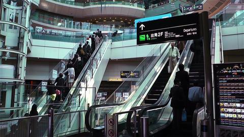 Tokyo Haneda Airport 4 Stock Video Footage