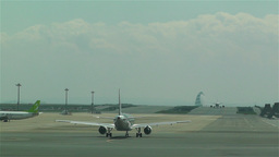 Tokyo Haneda Airport 15 Stock Video Footage