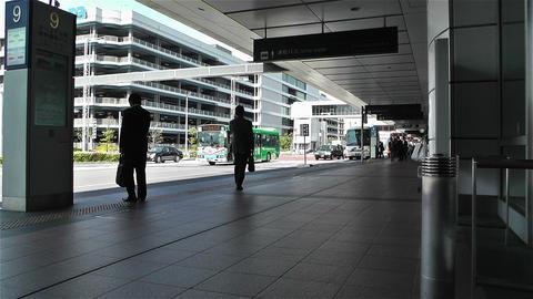 Tokyo Haneda Airport Arrival Level 8 Footage