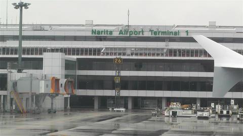 Tokyo Narita Airport 2 Stock Video Footage