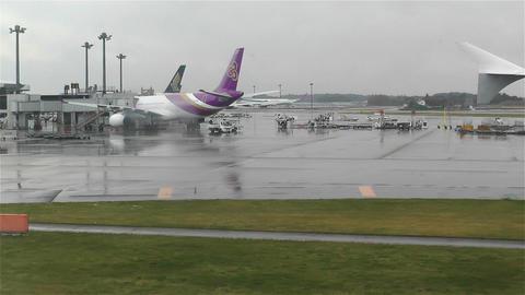 Tokyo Narita Airport 4 Footage