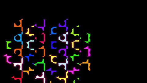 puzzle 065 動画素材, ムービー映像素材