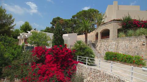 Joan Miro Museum & Art Gallery, Palma De Mallorca, Mallorca Island, Spain stock footage