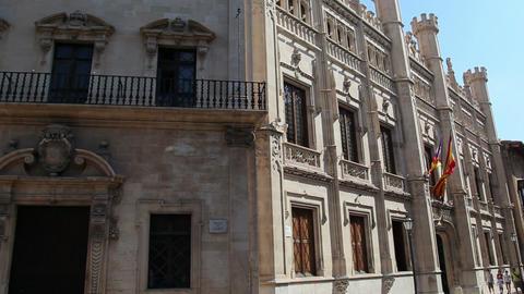 Center of Palma de Mallorca, Mallorca Island, Spain Footage