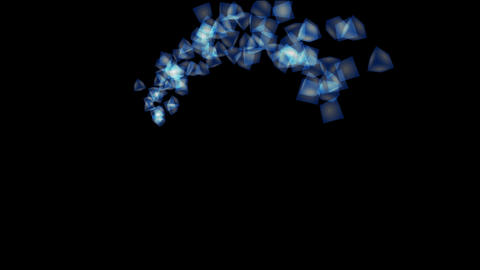 particle 16 Stock Video Footage