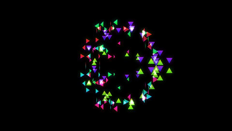 particle 33 2 Stock Video Footage