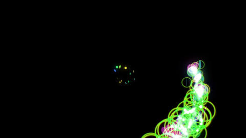 particle 39 loop Stock Video Footage