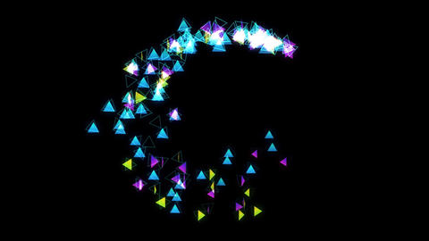 particle 37 loop Animation