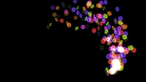 particle 47 loop Stock Video Footage