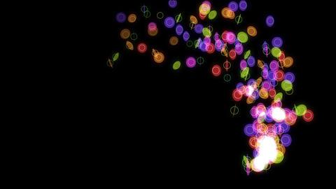 particle 47 loop Stock Video Footage