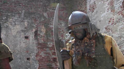 evil warrior 04 Footage