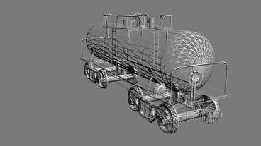 Rotation of 3D train tank.Tanker,locomotive,Oiltank,railroad,train,transportatio Animation