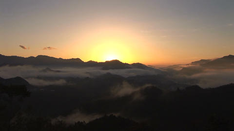 Sunrise, time-lapse Stock Video Footage