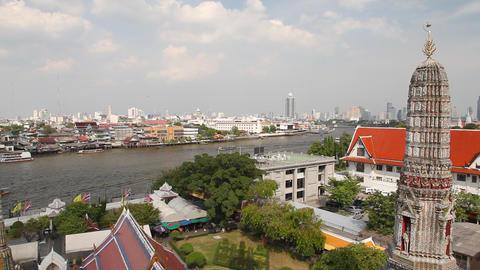 Chao phraya river Stock Video Footage