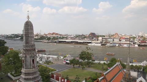 Chao phraya river Footage