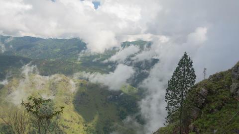 Mountain cloudscape Stock Video Footage