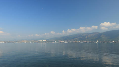 Gelendzhik bay timelapse Stock Video Footage