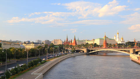 Kremlin timelapse Stock Video Footage