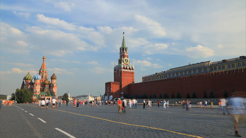 Red square timelapse Footage