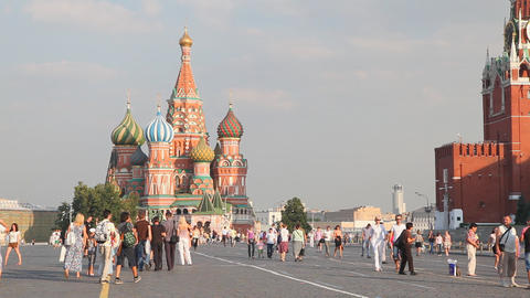 Red Square Stock Video Footage