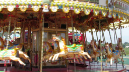 Merry go Round Stock Video Footage