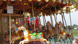 Merry Go Round stock footage
