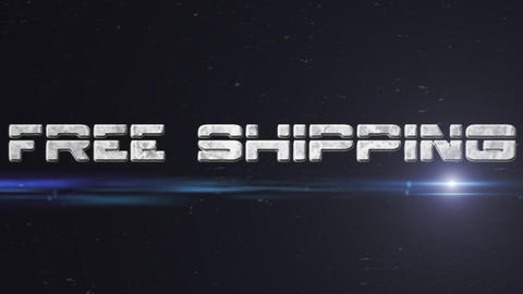 Free Shipping Stock Video Footage