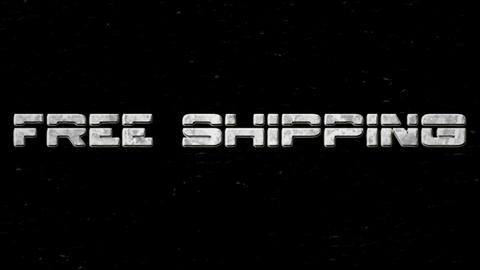 Free Shipping Animation