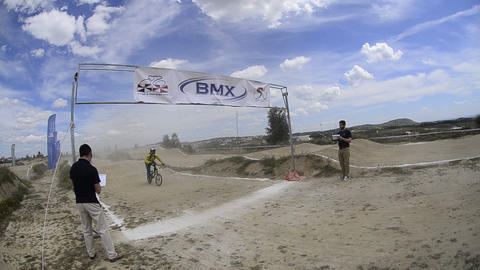 Masters competition end Stock Video Footage